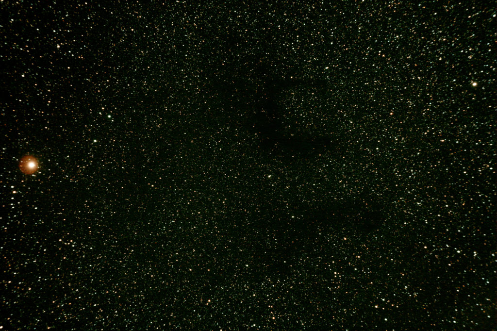 Barnard's Nebula 142 and 143