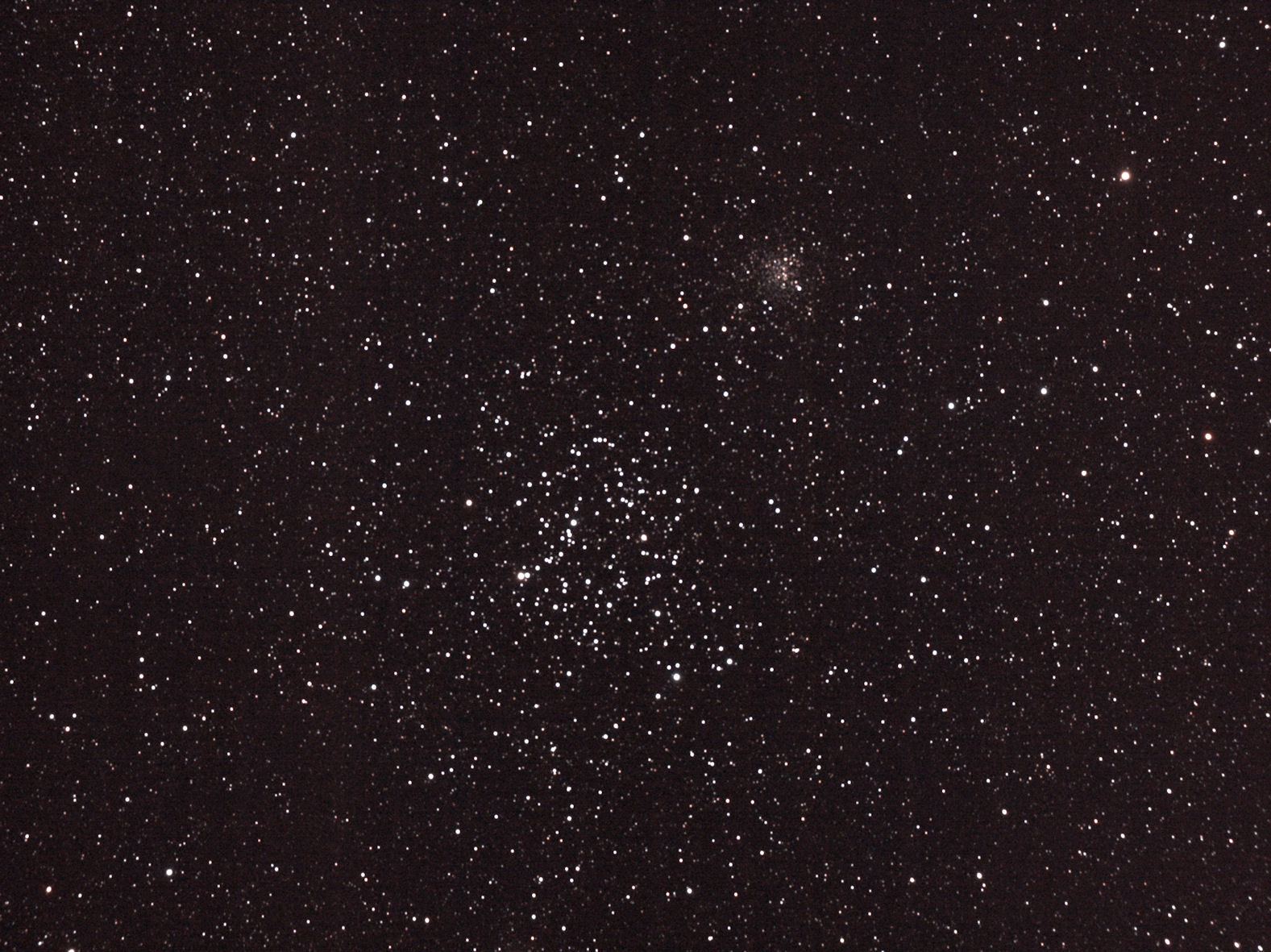 M35 with NGC 2158