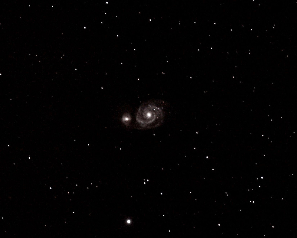 M51 Whirpool Galaxy.