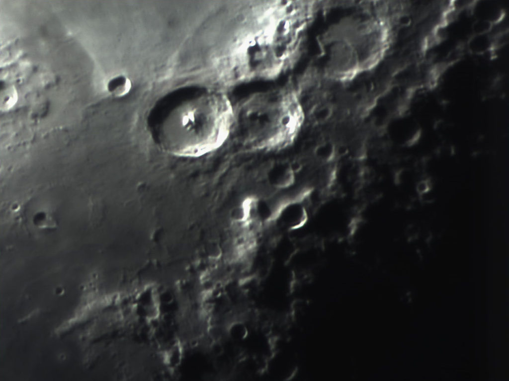 "Crater Theophilus taken with my new/old classic Circle-K 3"" refractor"