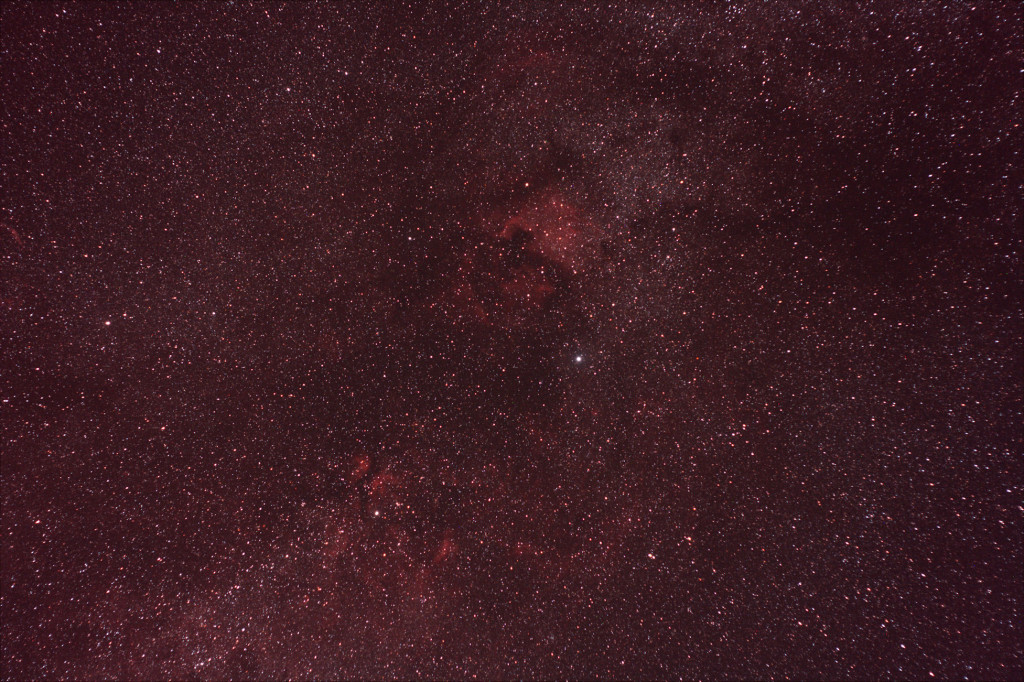 The North America Nebula (NGC 7000) in Cygnus