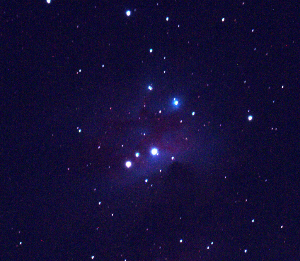 The Running Man Nebula (NGC 1973/5/7