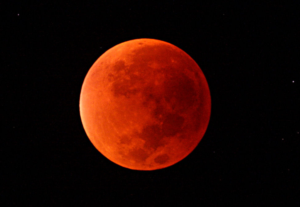 Lunar Eclipse from Somerset September 2015
