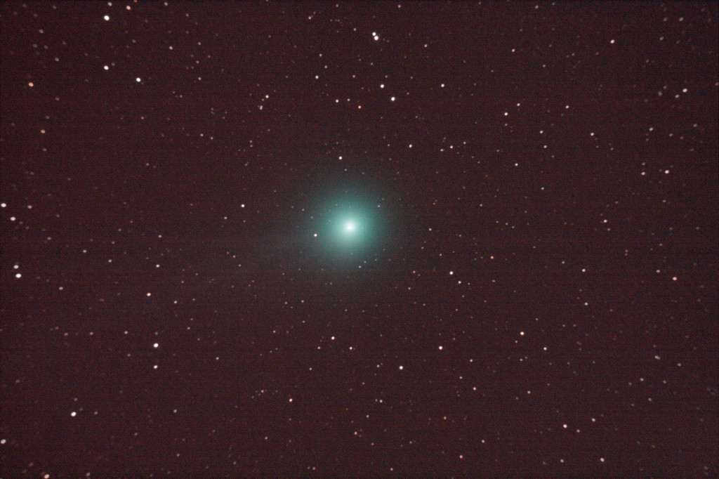 Comet Lovejoy on the 10th January 2015