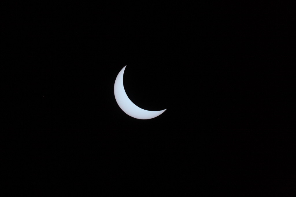 Solar Eclipse 2015 seen from Somerset, England