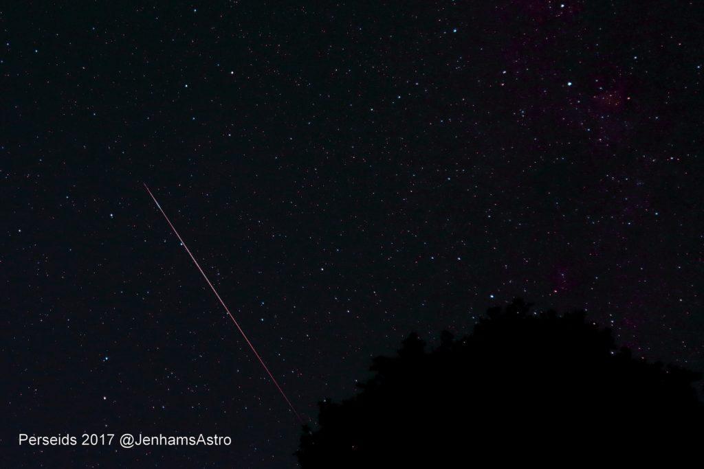 Perseid Meteor 2017