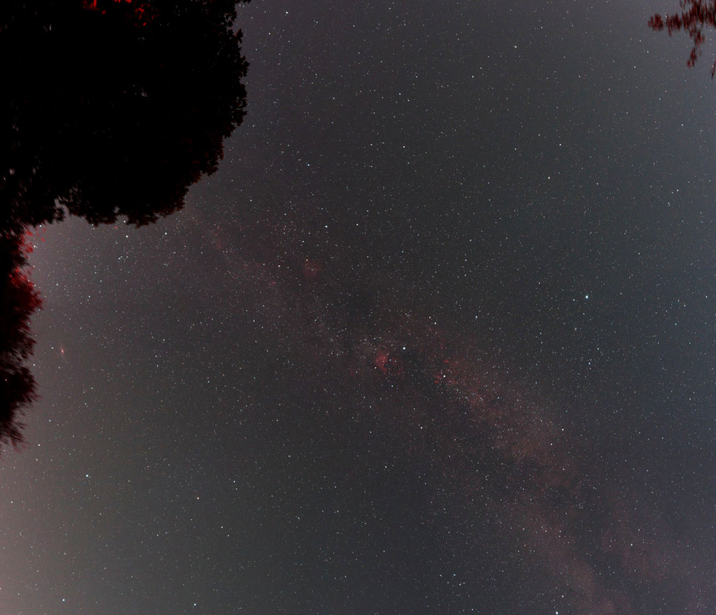 Milky way mosaic using the Microsoft ICE freeware program.