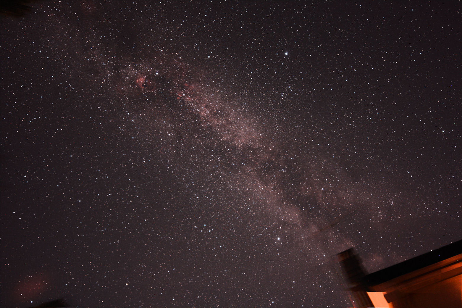 Milky Way over Somerset