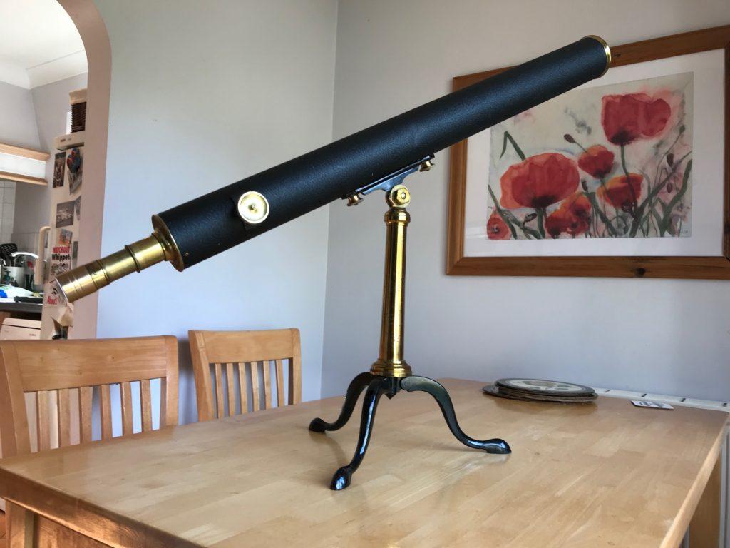 3-inch Broadhurst Clarkson library telescope