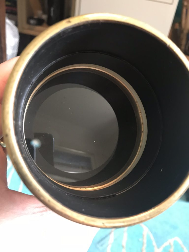 76mm objective lens