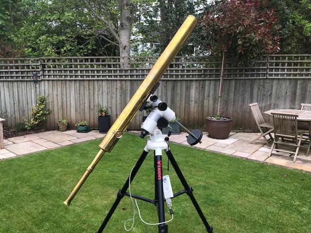 Clarkson telescope meets Vixen equatorial!