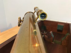 """2.5"""" T. Cooke and Sons refractor telescope"""